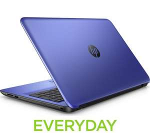 """HP 15.6"""" Laptop AMD A8 in blue (and other colours) £298.98 @ PCWorld"""
