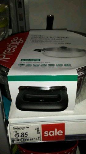 Prestige 26cm stainless steel sauté pan was £14 now £5.85 @ Asda Living (10 year guarantee)