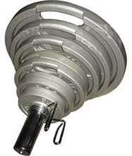 NSC Olympic Barbell Weight Set (EZ Grip) 140kg Set £183.99 delivered @ Discount Supplements