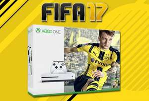Xbox One S Console  500gb + Fifa 17 - £249.85 - Shopto (1TB - £299.86 / Potentially £224.99 at Zavvi)