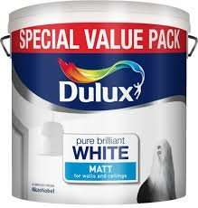 Dulux Vinyl Matt or Silk Brilliant white 6L £10 @ Boyes From Friday 26th