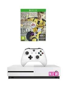 Xbox One S 500GB With Fifa 17 £249.99 @ Very
