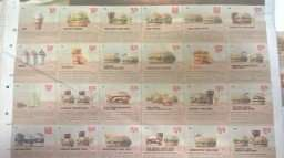 Tonne of BK vouchers on back of Metro paper today