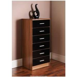 Oslo 6 Drawer Chest - £9.99 @ B&M