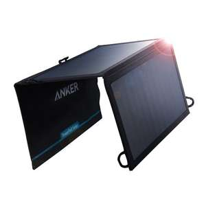 Anker PowerPort Solar Lite 15W 2-Port USB Solar Pannel Charger £37.99 Sold by AnkerDirect and Fulfilled by Amazon.