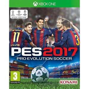 PES 2017 Xbox One/PS4 £33.25 With Code @ The Game Collection