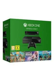 Xbox One 500Gb Console Kinect Bundle With Kinect Sports Rivals, Zoo Tycoon And Dance Central 3 months interest free credit available £224.99 Very