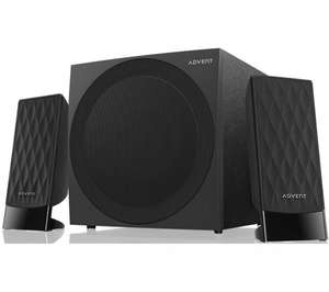 ADVENT ASP21BK15 2.1 PC Speakers £7.97 Currys