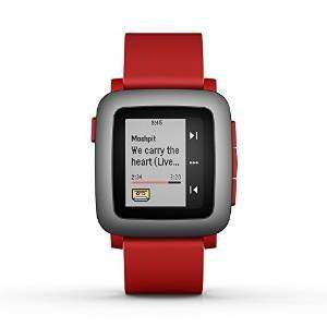 Pebble Time Smartwatch for Smartphone - Red £79.48 Sold by Firemall LLC UK and Fulfilled by Amazon