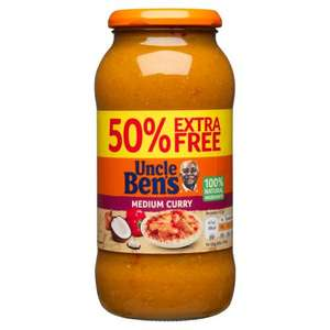 UNCLE BEN'S® Sweet & Sour Sauce (675g includes 50% extra Free) ONLY £1.00 @ Iceland