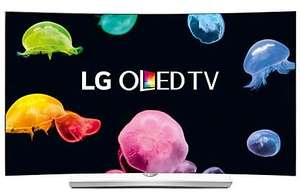 "LG 55EG960V Curved 4K Ultra HD OLED 3D Smart TV, 55"" with Freeview HD, Built-In Wi-Fi, Harman/kardon Audio & 2x 3D Glasses £1699.00 John Lewis"
