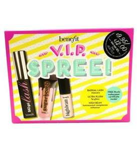 3 x £9.95 Benefit Mini Kits + FREE Benefit Boi-ing 01 Light deluxe sample £25 C+C @ Boots ( + Benefit Most Wanted Mascara line-up set (worth £43+) £29.50)