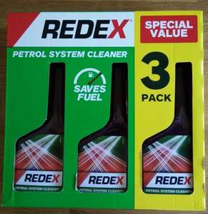 Redex Petrol System Cleaner 3 Pack £3.00 @ Tesco (in store)