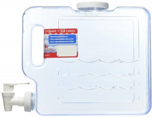 Arrow Plastic 00747 Compact Beverage Container, 3-Quart - just under 3 litres £14.70 delivered @ amazon.com