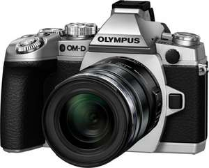 Olympus OM-D EM-1 Compact System Camera - Silver with 12-50mm Lens £697.49 @ Amazon