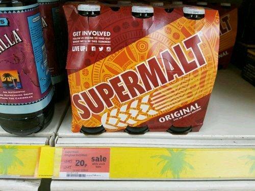 Sainsburys - 6 supermalt for 20p