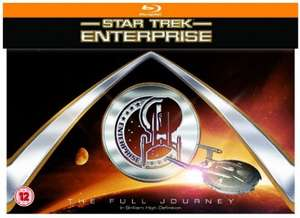 Star Trek: Enterprise seasons 1-4 complete Box Set [Blu-ray] £34.99 @ Zavvi