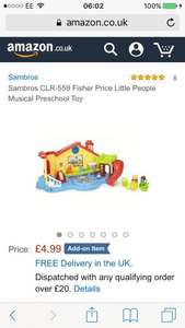 Fisher price little people preschool