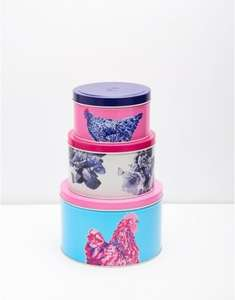 Joules Outlet Cake A Doodle Set of 3 Cake Tins £11.95 delivered @ Ebay