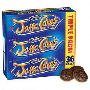 McVities Jaffa Cakes tripple pack (3 x 12) ONLY £1.25 @ Morrisons