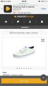 Ladies vans at zalando lounge - £23.90 Delivered