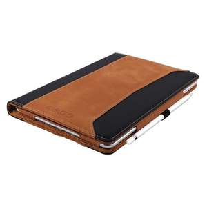 iPad Pro 9.7 Real Leather Case with Pencil Holder & Hand Strap £18.88 delivered from Kavgo & fulfilled by Amazon