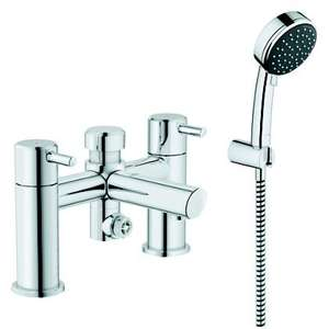 Grohe Feel Chrome Bath Shower Mixer Tap £118 delivered @ B&Q