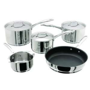 Stellar 7000 5 Pce Set (14 MP/16/18/20cm & 26cm Frypan) Stainless Steel RRP £390.00 then £270.00 now £119.50 @ Leekes.co.uk