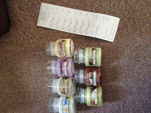 Yankee Candle Small Jars Boundary Mills Rotherham £2.43 each!