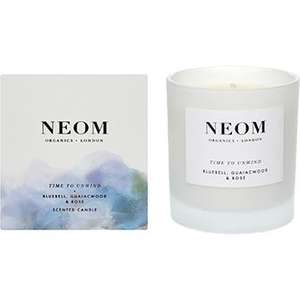 Neom Organics candles half price to £14.99 @ TK Maxx