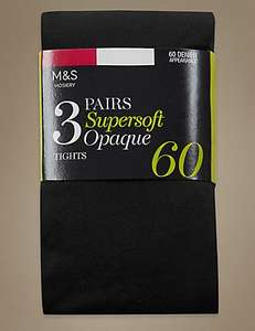 Free tights for Sparks card holders at Marks and Spencers £5.00 UNLIMITED
