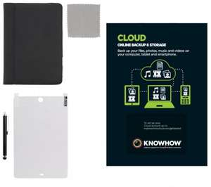 4TB cloud storage for 12 months through Currys KnowHow for £39. Includes iPad mini Starter Kit