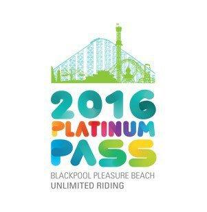Blackpool Pleasure Beach 2016 Platinum Pass £75