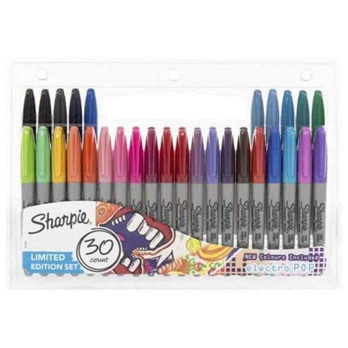 30 Sharpies pens - includes electro pop colours £8 + C&C @ Tesco