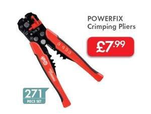 Crimping Tool and accessories £7.99 @ LIDL from 25/08/2016