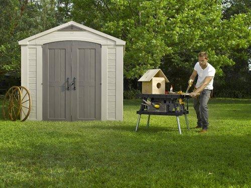Keter Apex Resin Outdoor Garden Storage Shed, 8 x 8 feet - Beige £549.99 @ amazon.co.uk