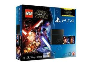 PlayStation 4 500GB Console with Lego Star Wars, No Man's Sky, Star Wars: The Force Awakens Blu-ray AND an Extra Dualshock Controller (Or Ratchet & Clank) - £269 - Tesco Direct (1TB - £299)