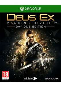 Deus Ex Mankind Divided on Xbox One @ Simply Games £34.85