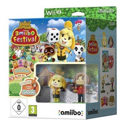 [Wii U] Animal Crossing: Amiibo Festival With Isabelle amiibo, Digby amiibo and three amiibo cards - £9.99 - TheGameCollection