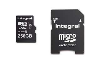 256Gb micro SD card for £13.79 prime / £18.54 non prime  pre-order @ Amazon