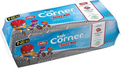 Muller Corner Kids Toffee Hoops Yogurts (4 x 135g) ONLY £1.00 @ Asda