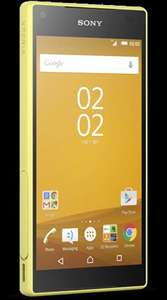 Sony Xperia Z5 Compact £240 - O2 refresh deal