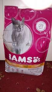 IAMS 2.55kg Senior Cat Biscuits - Half price! £7.25 @ Tesco