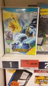 Pokken tournament only £31.99 Sainsburys in store