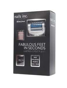 Micro Pedi & 2 X Nails Inc polishes Marks & Spencers £24