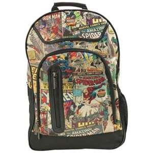 Marvel Retro Comic Back Pack £12.99  was £29.99 at ARGOS