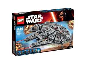 LEGO Star Wars Millennium Falcon 75105 £84.95 with code C+C @ Tesco Direct (LEGO Mindstorms EV3 £190 / LEGO Technic CLAAS XERION 5000 TRAC VC 42054 £80 + more in 1st post))