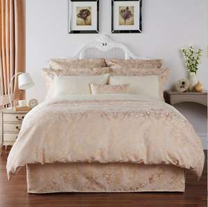 80% OFF!!! Gold 'Sicily' super king size duvet cover from £160 now only for £32 at Debenhams