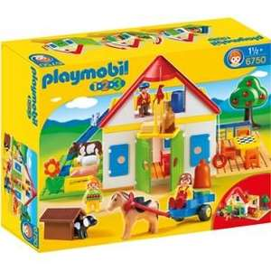 Playmobil 6750 1.2.3 Large Farm less than Half Price £21.50 @ Tesco Direct (+£2 C+C if order less than £30 or you are del saver customer)