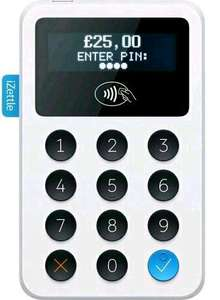 iZettle card reader only £19 +vat. Important! £22.80 Please use the link in the first comment!